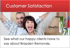 Read our removal testimonials