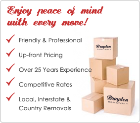 Brayden Removals point of difference
